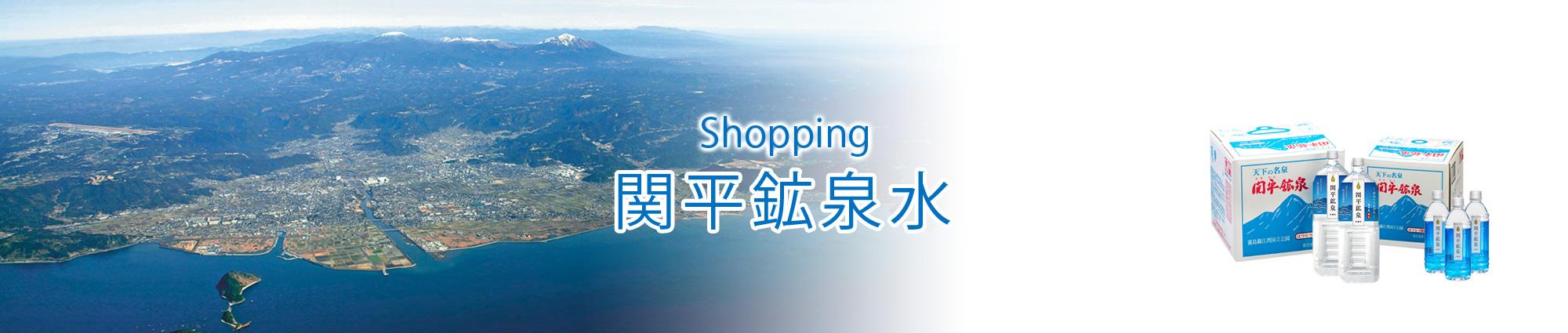 関平鉱泉水ショッピング